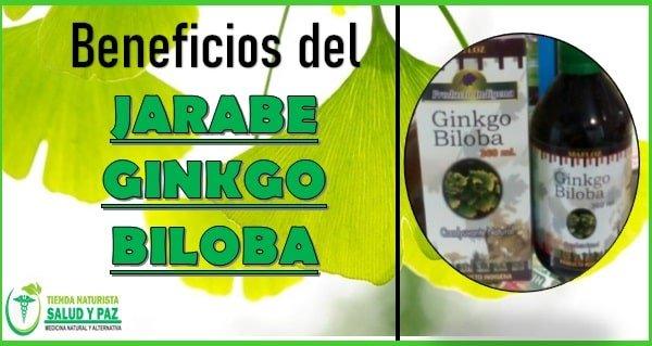 Beneficios del jarabe de ginkgo biloba