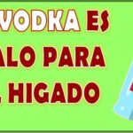 el vodka es malo para el higado