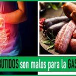 los embutidos y la gastritis
